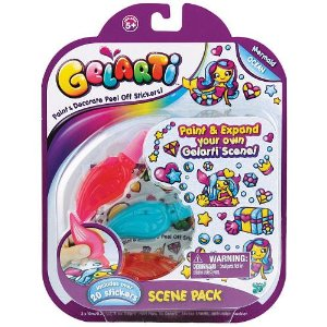 Holiday Gift Guide: Get Creative with Gelarti Scene Pack #holidaygiftguide #crafts #kids