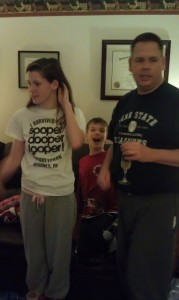 Wordless Wednesday: NYE Photobombing