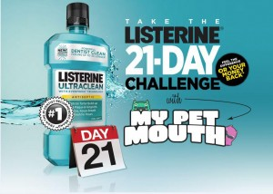 Are You Ready for the #Listerine Daily Challenge? We Are!