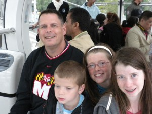 Cruising on the London Eye