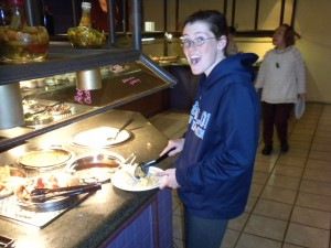 #JerseyLove New jersey Shore Caesars Atlantic City Boardwalk Buffet Family Dining