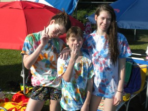 Sumer Crafts Tie Dye T-shirts Crafty