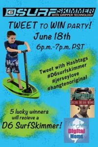 Soaking Up the Fun in Belmar, NJ, Even If It Is Wet AND a Twitter Party 6/19 9-10 pm EST #JerseyLove #D6SurfSkimmer #HangTenOriginal