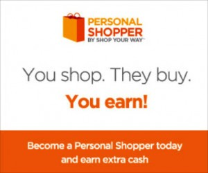 Who Wouldn't Want to Shop Your Way? #PersonalShopper