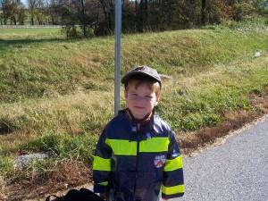 Halloween Preschool Policeman Costume