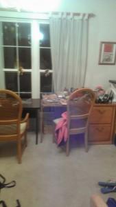 Dining room declutter 2