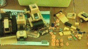 Lego Construction Vehicles