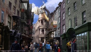 Introducing… The Wizarding World of Harry Potter–Diagon Alley!