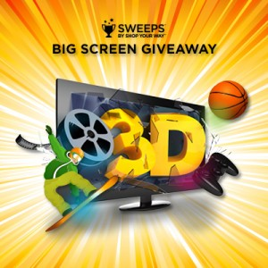 Shop Your Way Big Screen Giveaway