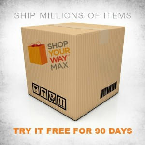 2-Day Shipping with Shop Your Way's Max…Only $39/Year