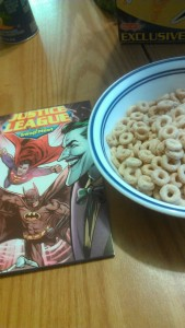 Justice League Cheerios