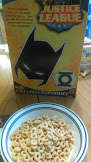 Justice League Cheerios Bax of Box