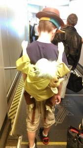 Wordless Wednesday: Do We Need To Buy a Ticket for Yoda? #DisneySMMoms