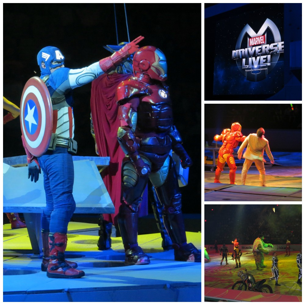 Marvel Universe Live Collage