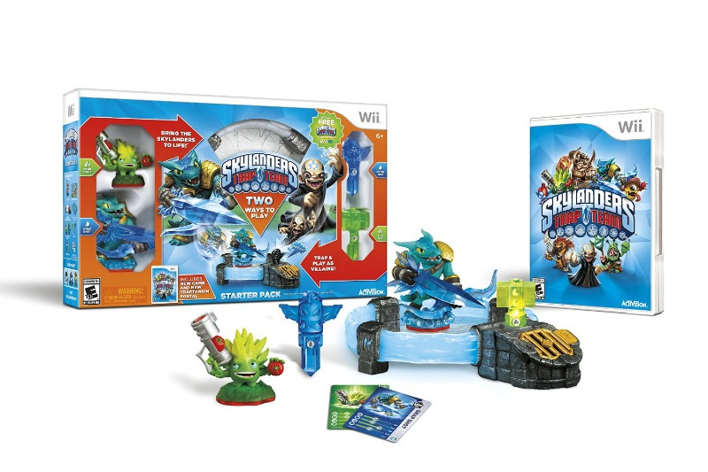 Gift Guide: Skylanders Trap Team for Wii, PS4, XBox One, XBox 360, WiiU, and Tablets #giftguide