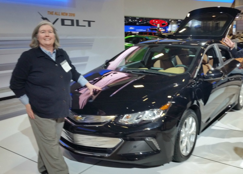 Chevrolet Volt Washington Auto Show SheBuysCars Electrified Vehicle