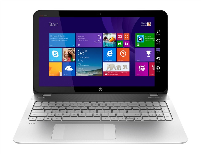 Best Buy HP Envy Touchsmart Laptop AMD FX APU Gaming Entertainment Laptop
