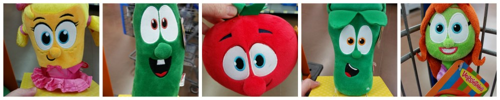 VeggieTalesFun Plush Toys Laura Larry Bob Junior Petunia Walmart