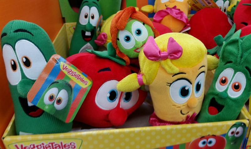 VeggieTales Plush Toys Walmart