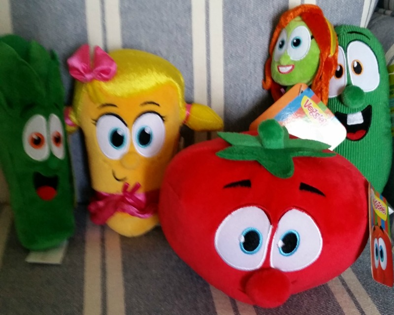 VeggieTales Party Plush Toys Junior Laura Bob Petunia Larry Walmart