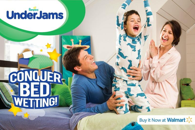 Acorn Pampers UnderJams Family Bedwetting Toilet  Training Nighttime Toilet Training Enuresis Walmart
