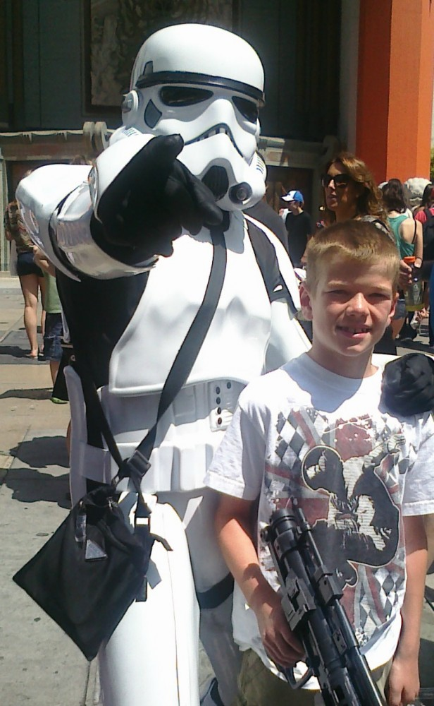 Verizon FiOS® FiOS® Entertainment Custom TV Customizable California Star Wars Storm Trooper