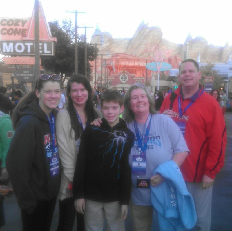 Disneyland Cars Land California Adventure Family