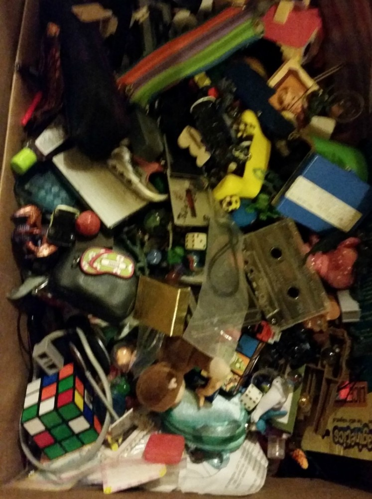 Organization Box of Miscellaneous Toys