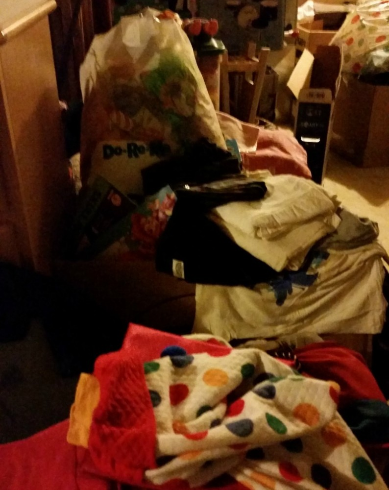 Organization Sorting and Consigning Clothes