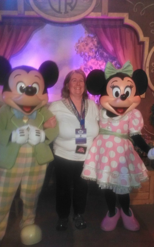 Thursday Evening Reception TRYIt! Mickey and Minnie