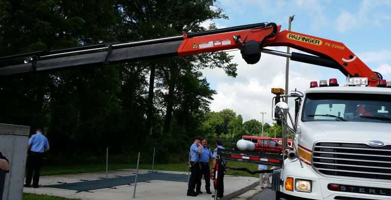 HCDFRS Howard County Fire and Rescue Services Maryland Collapse Rescue Pod Crane PodPower
