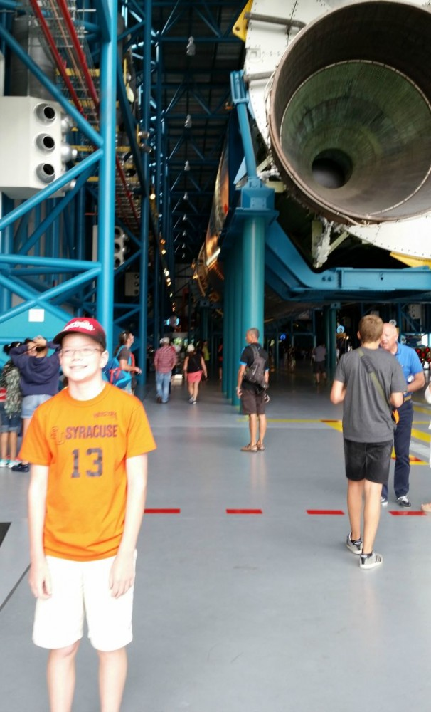 Kennedy Space Center Apollo/Saturn V Center Rocket Engines Travel Vacation CollegeTourCation