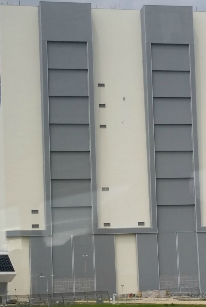 Kennedy Space Center Vehicle Assembly Building Doors travel vacation CollegeTourCation