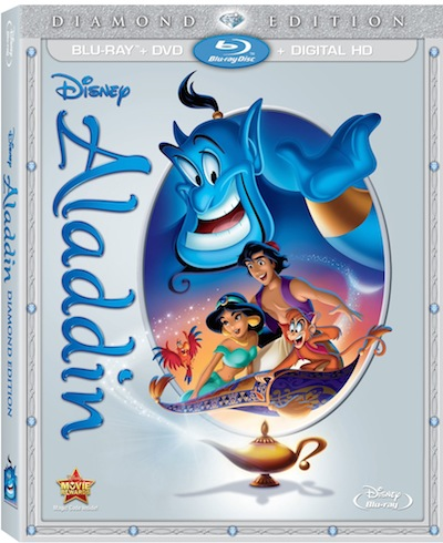 Aladdin Diamond Edition Bluray Digital HD Disney Movies Anywhere