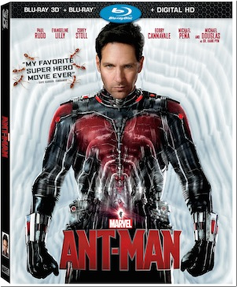 Ant-Man Bluray DVD Cover