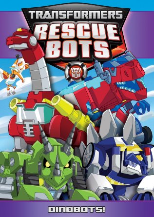 Transfomers Rescue Bots Dinobots DVD