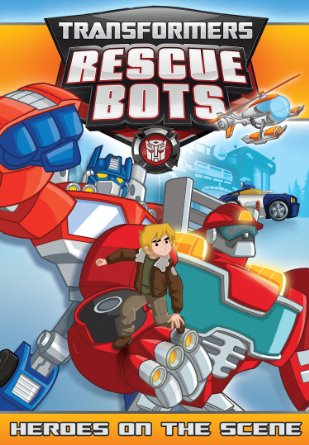 Transfomers Rescue Bots Heroes on the Scene DVD