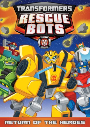 Transfomers Rescue Bots Return of the Heroes DVD